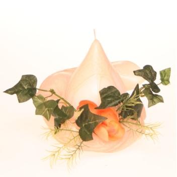 fleur de table orange